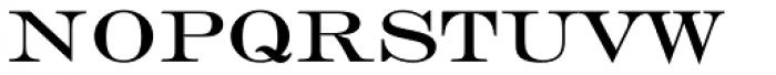Engravers Roman Font LOWERCASE