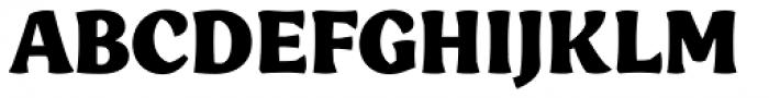 Engria Black Font UPPERCASE