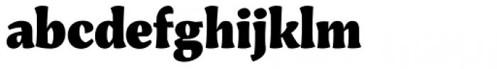 Engria Black Font LOWERCASE