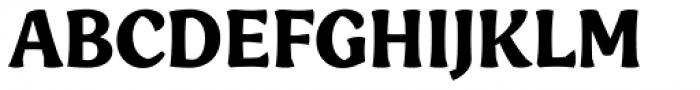 Engria Bold Font UPPERCASE
