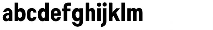 Engula Black Font LOWERCASE