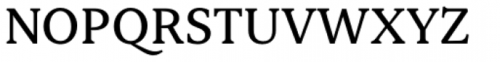 Ennore Medium Font UPPERCASE
