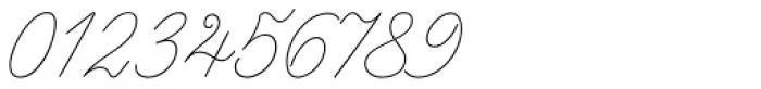 Enocenta Hairline Font OTHER CHARS