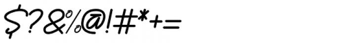 Enphand Regular Font OTHER CHARS