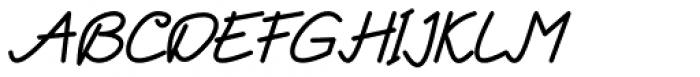 Enphand Regular Font UPPERCASE