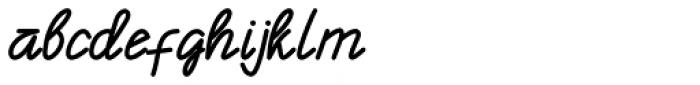 Enphand Regular Font LOWERCASE