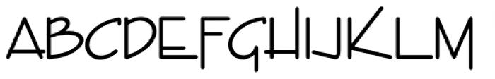 Entebbe Font LOWERCASE
