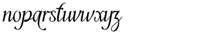 Enthrall Regular Font LOWERCASE