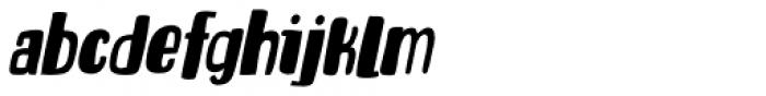 Entourage Italic Font LOWERCASE