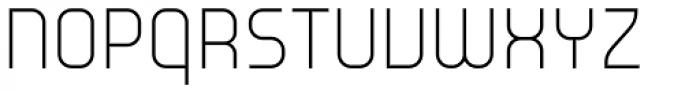 Environ Ultra Light Font UPPERCASE