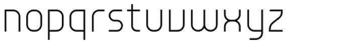 Environ Ultra Light Font LOWERCASE
