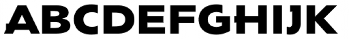 Envisage Font UPPERCASE