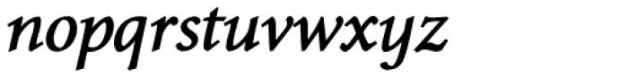 Envoy Bold Italic Font LOWERCASE