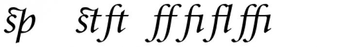 Envoy Display Expert Italic Font LOWERCASE