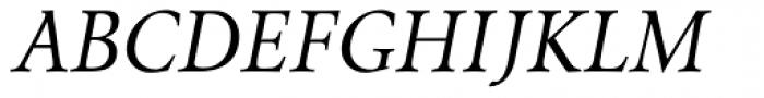 Envoy Display Italic Font UPPERCASE