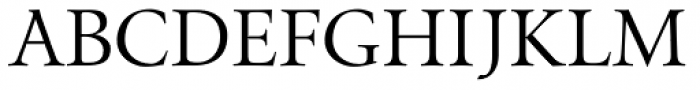 Envoy Display Font UPPERCASE