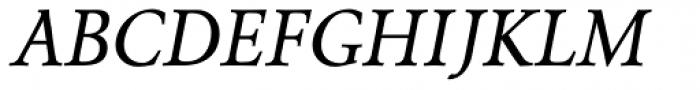 Envoy Italic Font UPPERCASE