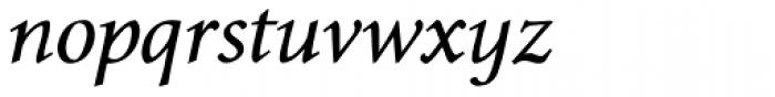 Envoy Italic Font LOWERCASE