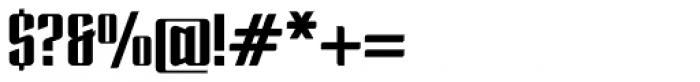 Enza Black Font OTHER CHARS