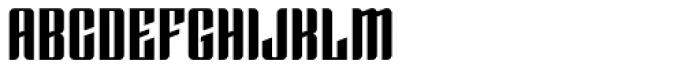 Enza Black Font UPPERCASE
