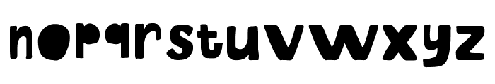 EoSD U.N. Owen Hand Font LOWERCASE