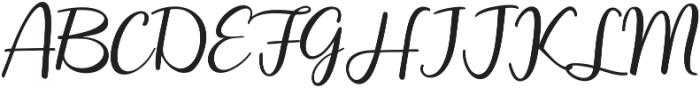 Ephorbia Regular ttf (400) Font UPPERCASE