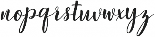 Ephorbia Regular ttf (400) Font LOWERCASE