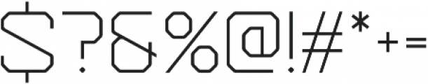 Epicoff Regular otf (300) Font OTHER CHARS