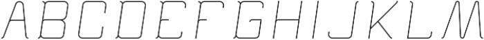 Epicon ttf (300) Font UPPERCASE