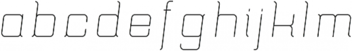 Epicon ttf (300) Font LOWERCASE