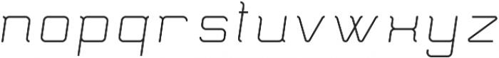 Epicon ttf (400) Font LOWERCASE