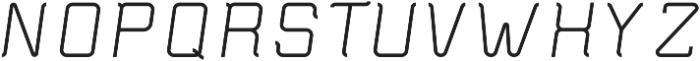 Epicon ttf (700) Font UPPERCASE