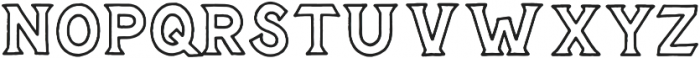 Epitaph otf (400) Font UPPERCASE