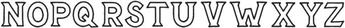 Epitaph otf (400) Font LOWERCASE