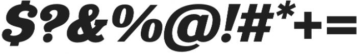 Eponymous Black Italic otf (900) Font OTHER CHARS
