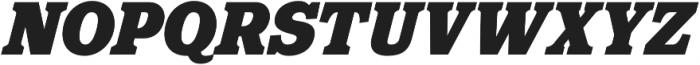 Eponymous Black Italic otf (900) Font UPPERCASE