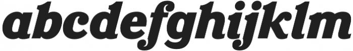 Eponymous Black Italic otf (900) Font LOWERCASE