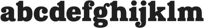Eponymous Black otf (900) Font LOWERCASE