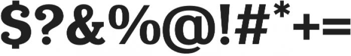 Eponymous Bold otf (700) Font OTHER CHARS