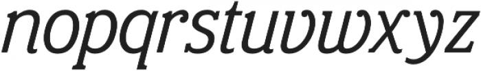 Eponymous Italic otf (400) Font LOWERCASE