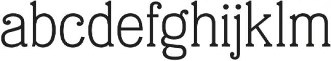 Eponymous Light otf (300) Font LOWERCASE