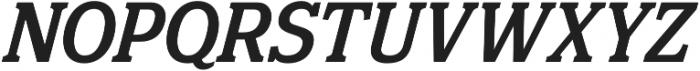 Eponymous Medium Italic otf (500) Font UPPERCASE