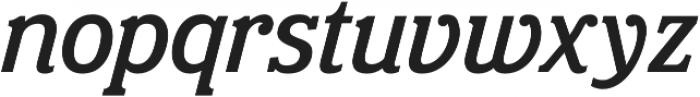 Eponymous Medium Italic otf (500) Font LOWERCASE