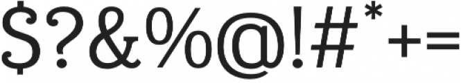 Eponymous otf (400) Font OTHER CHARS