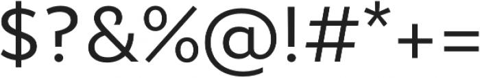 Epura Book otf (400) Font OTHER CHARS