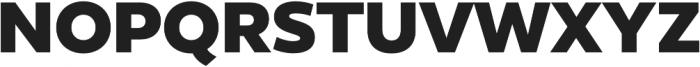 Epura ExtraBold otf (700) Font UPPERCASE