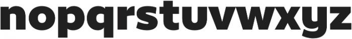 Epura ExtraBold otf (700) Font LOWERCASE