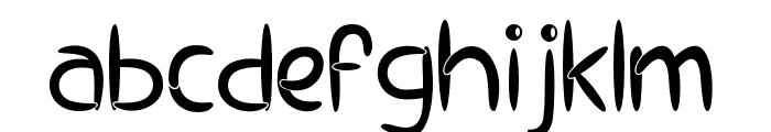 EP Pipes Font LOWERCASE