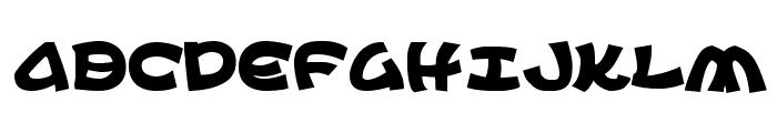 Ephesian Bold Font LOWERCASE