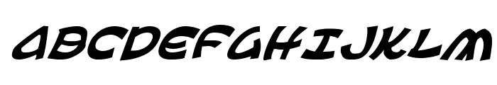 Ephesian Italic Font UPPERCASE